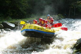 Pariwisata Provinsi Jawa Tengah Destinations Rainbow Rafting Pemalang
